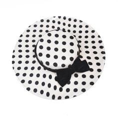 Dames Le plus chaud/Style Vintage Tissu avec Bowknot Chapeau melon / Chapeau cloche/Kentucky Derby Des Chapeaux