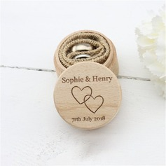 Elegant/Chic/Klassiek Ring Doos in Hout