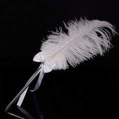 Elegant Steentjes/Boog/Feather pennenset