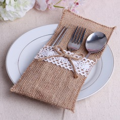 Lovely Linen Cutlery Bag (Set of 6)