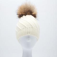 Senhoras Lovely/Moda Mistura de lã Gorro / desleixada