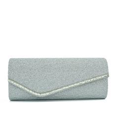 Elegant Spets/Glittrande Glitter Grepp/Brudväska