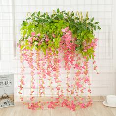 élégante fleur en soie Fleurs Artificielles ( ensemble de 12) (203220535)