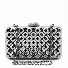 Charming Plating Mirror Clutches