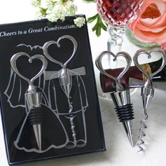 """Love Story"" Stainless Steel Bottle Openers"