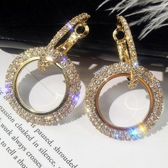 Beautiful Alloy Rhinestones With Rhinestone Women's Fashion Earrings (Sold in a single piece) (137197144)