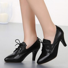 Women's Leatherette Ballroom Swing Character Shoes Dance Shoes