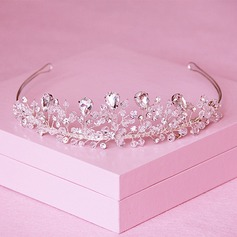 Ladies Exquisite Crystal/Rhinestone/Alloy Tiaras (042110843)