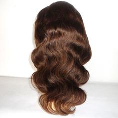 Indisk Kroppsvåg Mänskligt hår Mänskligt hår Hel-spets
