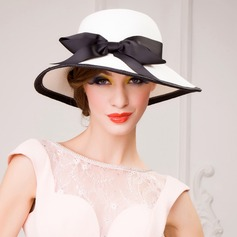 Ladies ' Gorgeous Papyrus med Bowknot Stråhat/Tea Party Hats