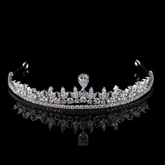 Ladies Gorgeous Zircon Tiaras With Cubic Zirconia (Sold in single piece)