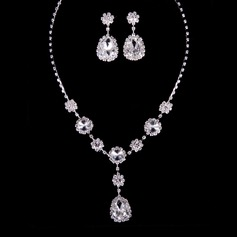 Attractive Rhinestones/Crystal Ladies' Jewelry Sets