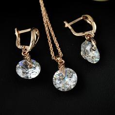 Nice Zircon Cobre Mulheres Conjuntos de jóias