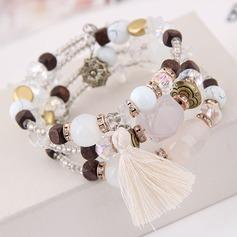 Klassisk stil Legering Resin Kvinnor Mode Armband (Säljs i ett enda stycke)