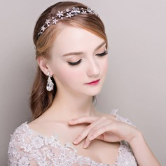 Ladies Romantic Rhinestone/Alloy Headbands