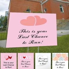 Beautiful PVC Wedding Sign