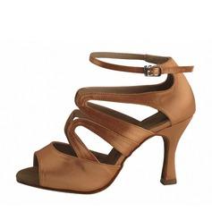 Kvinder Satin sandaler Latin Dansesko