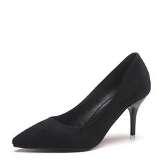 Kvinder Ruskind Stiletto Hæl Pumps sko