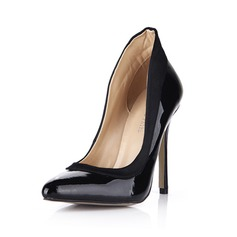 Cuero satén sedoso Tacón stilettos Salón Cerrados zapatos