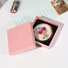 Classic Stainless Steel Compact Mirror