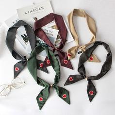 Solid Color Hals Halstørklæde