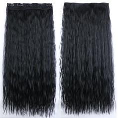 Vague d'eau cheveux synthétiques Pince pour extensions capillaires (Vendu en une seule pièce) 100 g