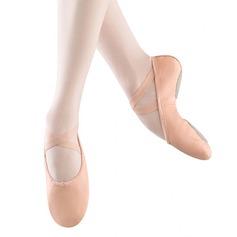 Donna Vera pelle Ballerine Balletto Prova Scarpe da ballo
