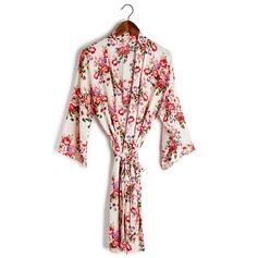 Brudepige Gaver - Smukke Efterspurgte Bomuld Robe (256170261)