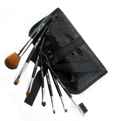 Brand New 7 Pcs Mini Synthetic Fiber Starter Makeup Brush Kit (046022876)