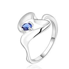 Lysande Koppar/Zirkon/Silver Damer' Ringar
