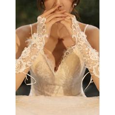 Tyl/Blonder Wrist Længde Brude Handsker