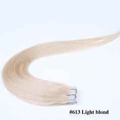 5A Virgin / remy Rakt människohår Tape i hårförlängningar (Säljs i ett enda stycke) 40g