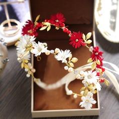 Damer Vackra Och Strass/Legering Pannband med Strass (Säljs i ett enda stycke)