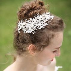 Senhoras Bonito Cristal/Strass/Liga Grampos de cabelo com Strass/Cristal (Vendido em uma única peça)