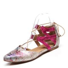 De mujer PU Tacón plano Planos zapatos