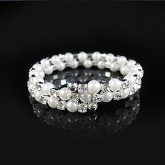 Elegante Legering met Parel/Bergkristal Dames Armbanden
