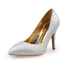 Vrouwen Sprankelende Glitter Pumps Closed Toe schoenen