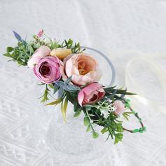 Damen Besondere Seide Blumen Stirnbänder