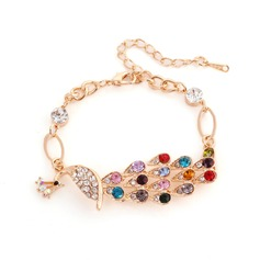 Gorgeous Alloy With Imitation Crystal Ladies' Bracelets & Anklets