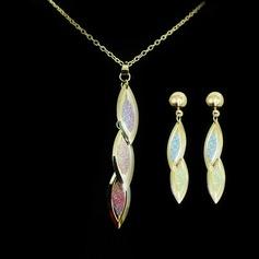 Lindo Liga Senhoras Conjuntos de jóias