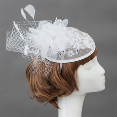 Elegant Feather Fascinators/Bloemen & Veertjes