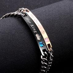 Unique Alloy Women's Fashion Bracelets (Sold in a single piece)