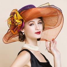 Señoras' Maravilloso/Glamorosa/Elegante/Llamativo Batista Sombreros Playa / Sol