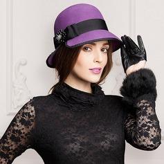 Señoras' Moda Madera Bombín / cloché Sombrero