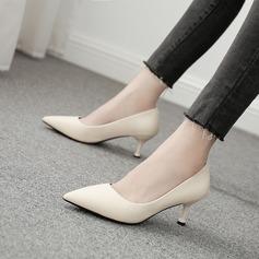 Femmes Cuir en microfibre Talon stiletto Escarpins chaussures