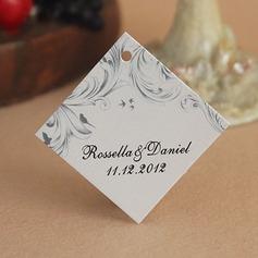 Personalizado Elegante papel cartão duro