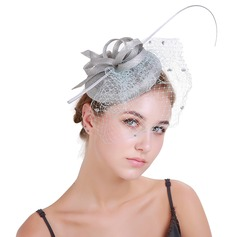Damen Exquisiten Batist/Feder mit Feder Kopfschmuck