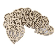 Love Design Wooden Decorative Accessories