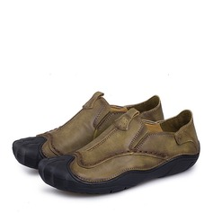 Homens Microfibra Couro Penny Loafer Casual Mocassins Masculinos