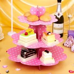 классический обжимной бумаги стойки торта